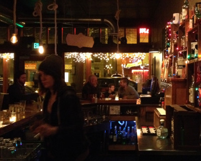 "Union Bar, ""where labor rests"""