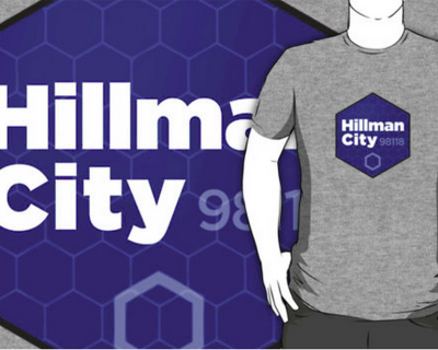 Hillman City hexagon shirt
